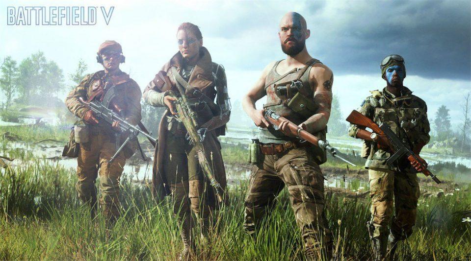battlefield V cross-play