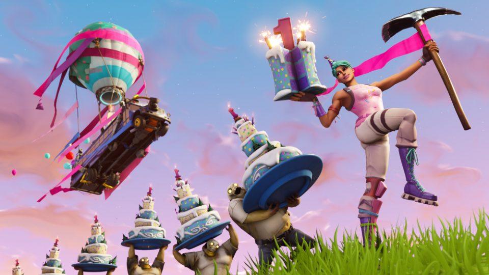 fortnite buon compleanno