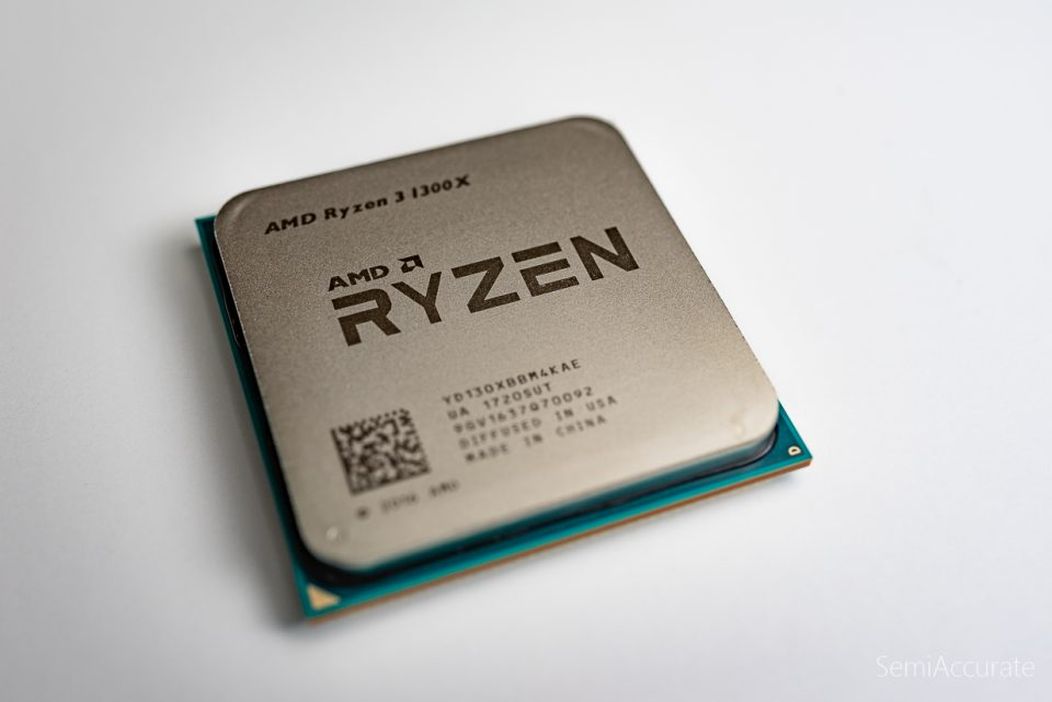 AMD Ryzen 3 1300x caratteristiche