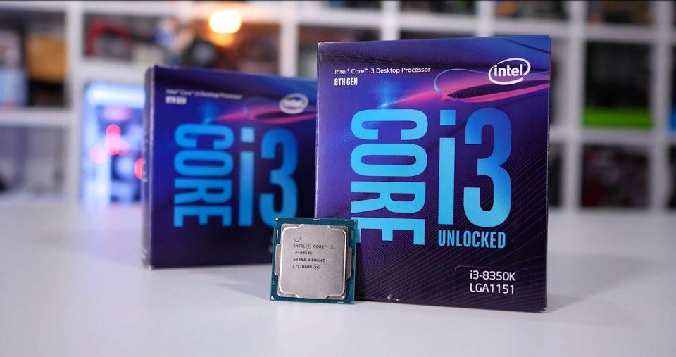 intel core i3-8100 caratteristiche