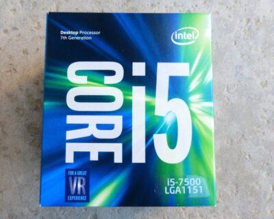 I5-7500: Caratteristiche del processore Intel