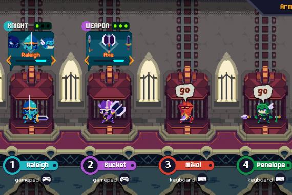 Knight Club Gratis – Scarica il gioco dal sito Gutter Arcade