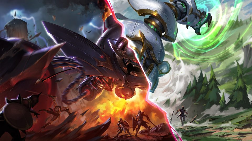 league of legends nexus blitz