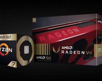 Ryzen 7 2700X e Radeon VII: AMD compie 50 anni