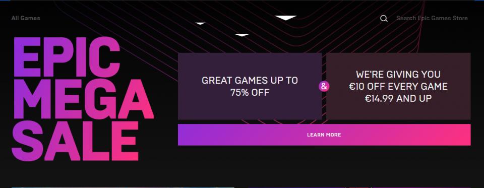 epic games promozione