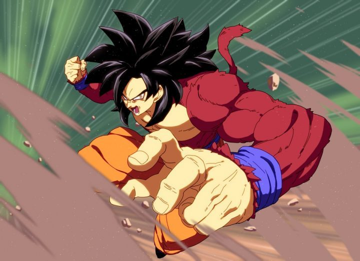 Goku GT nel DLC di Dragon Ball FighterZ
