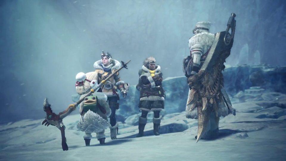 monster hunter world iceborn dlc novità