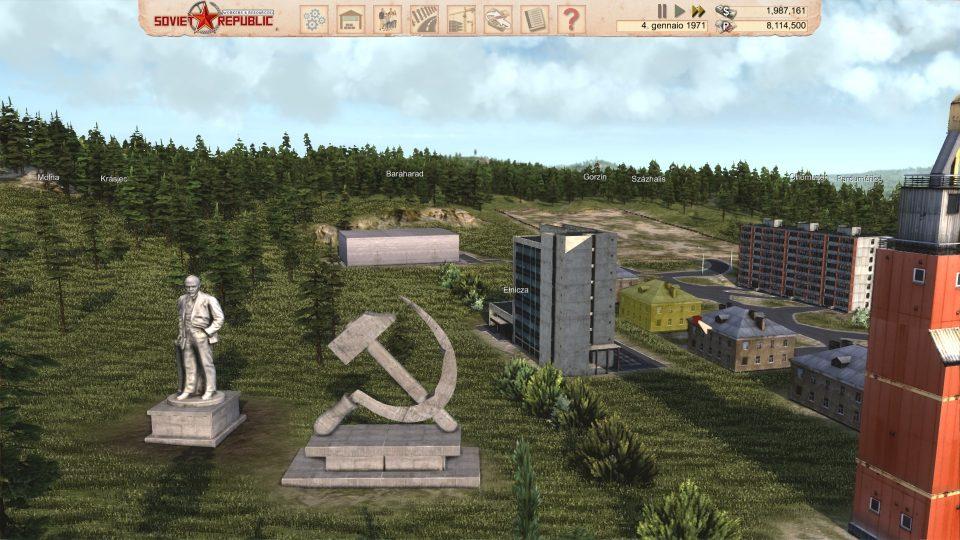 Workers & Resources: Soviet Republic comunismo