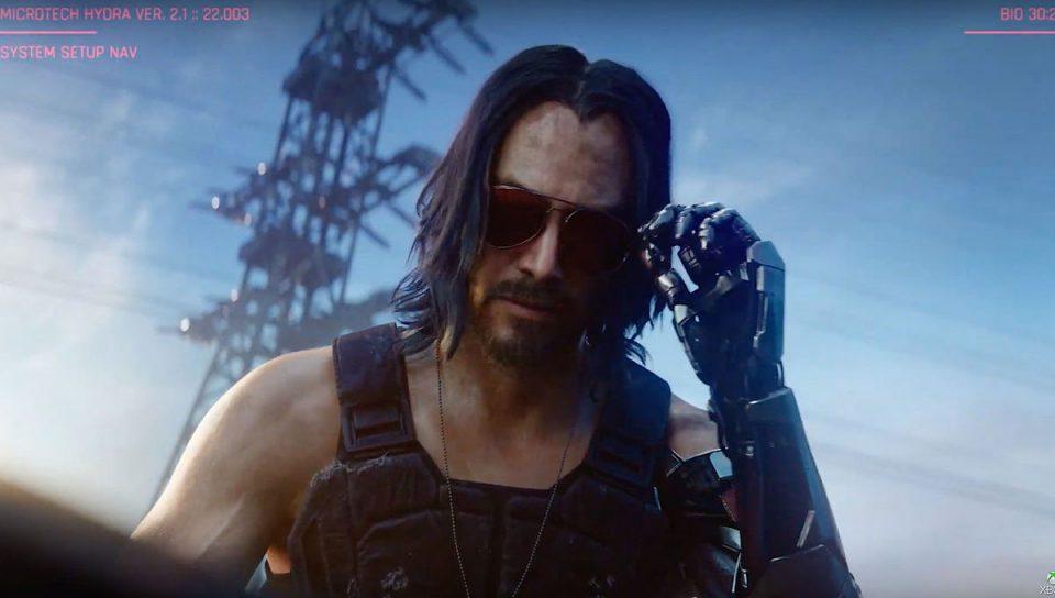 Cyberpunk 2077:Nuovo trailer con la partecipazione di Keanu Reeves