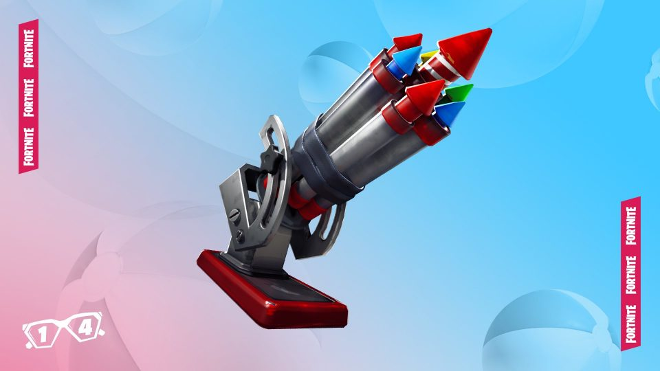 fortnite fiochi d'artificio riva fiume