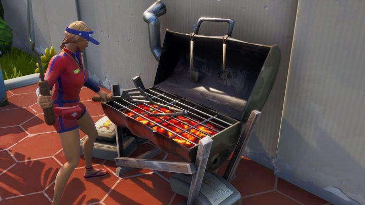 Fortnite: Grill da distruggere con lo strumento basso e lento – Mappa