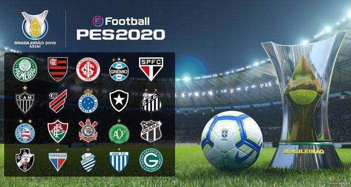 PES 2020: Licenze ottenute per il campionato Brasiliano