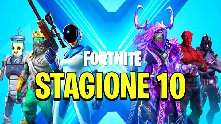 Fortnite stagione 10 sfide