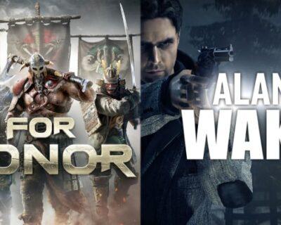 Alan Wake e For Honor: gratuiti per una settimana su Epic Games Store