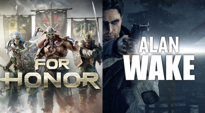 alan wake for honor gratuiti epic games store