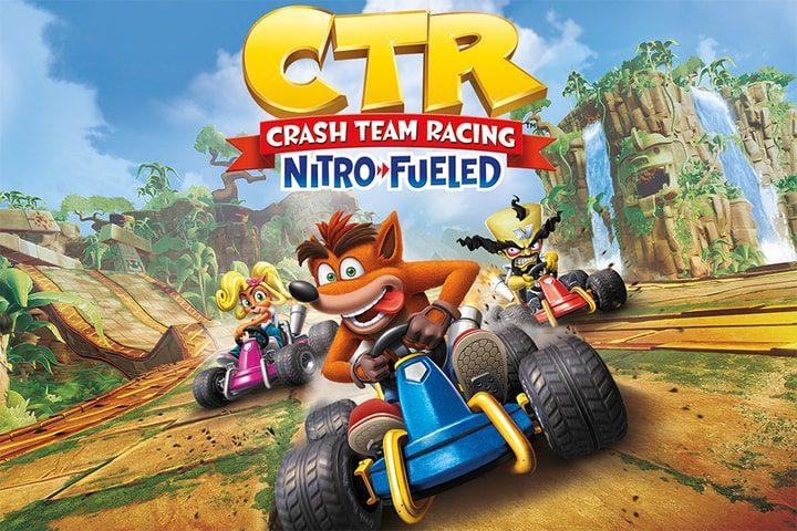 Crash Team Racing: Nitro Fueled raggiunge la cima dei giochi più venduti