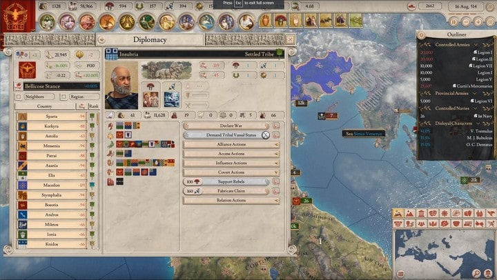 imperator-rome-gestione