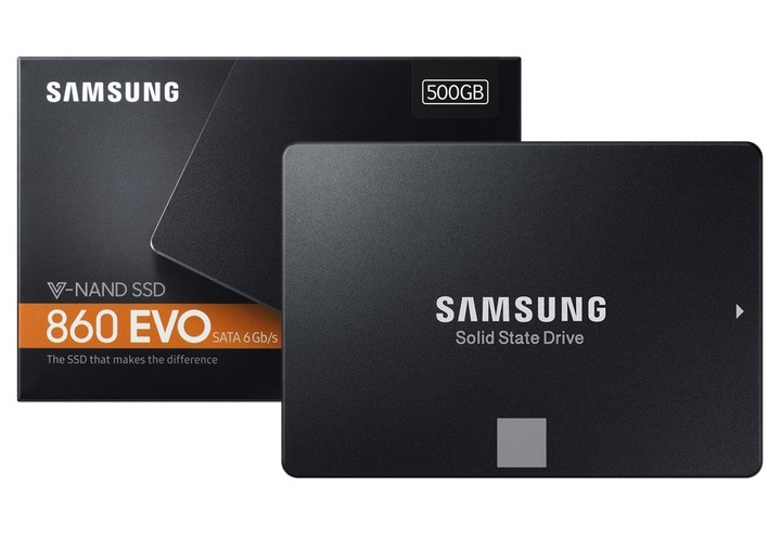 PC da Gaming: build fascia bassa - Agosto 2019 - Samsung 860 EVO 500 GB