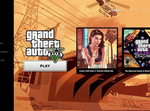 Rockstar Games: launcher con GTA San Andreas in regalo