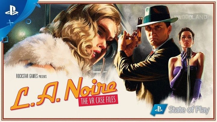 LA Noire: The VR Case Files disponibile su PS4