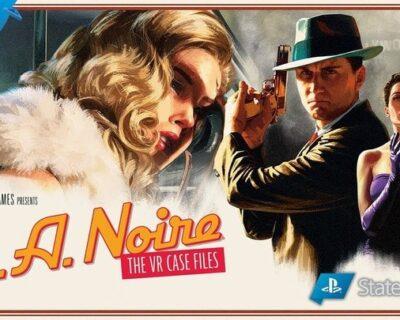 LA Noire: The VR Case Files disponibile su PS4