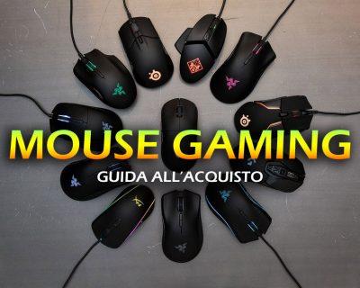 Migliori mouse da Gaming – Guida all'acquisto