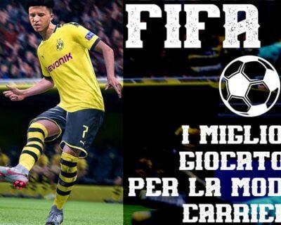 Giovani talenti su  Fifa 20 per la Modalità Carriera