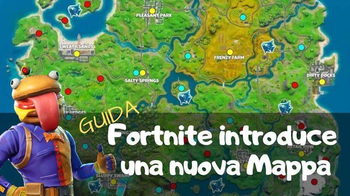Fortnite 2: arriva una nuova mappa – Guida