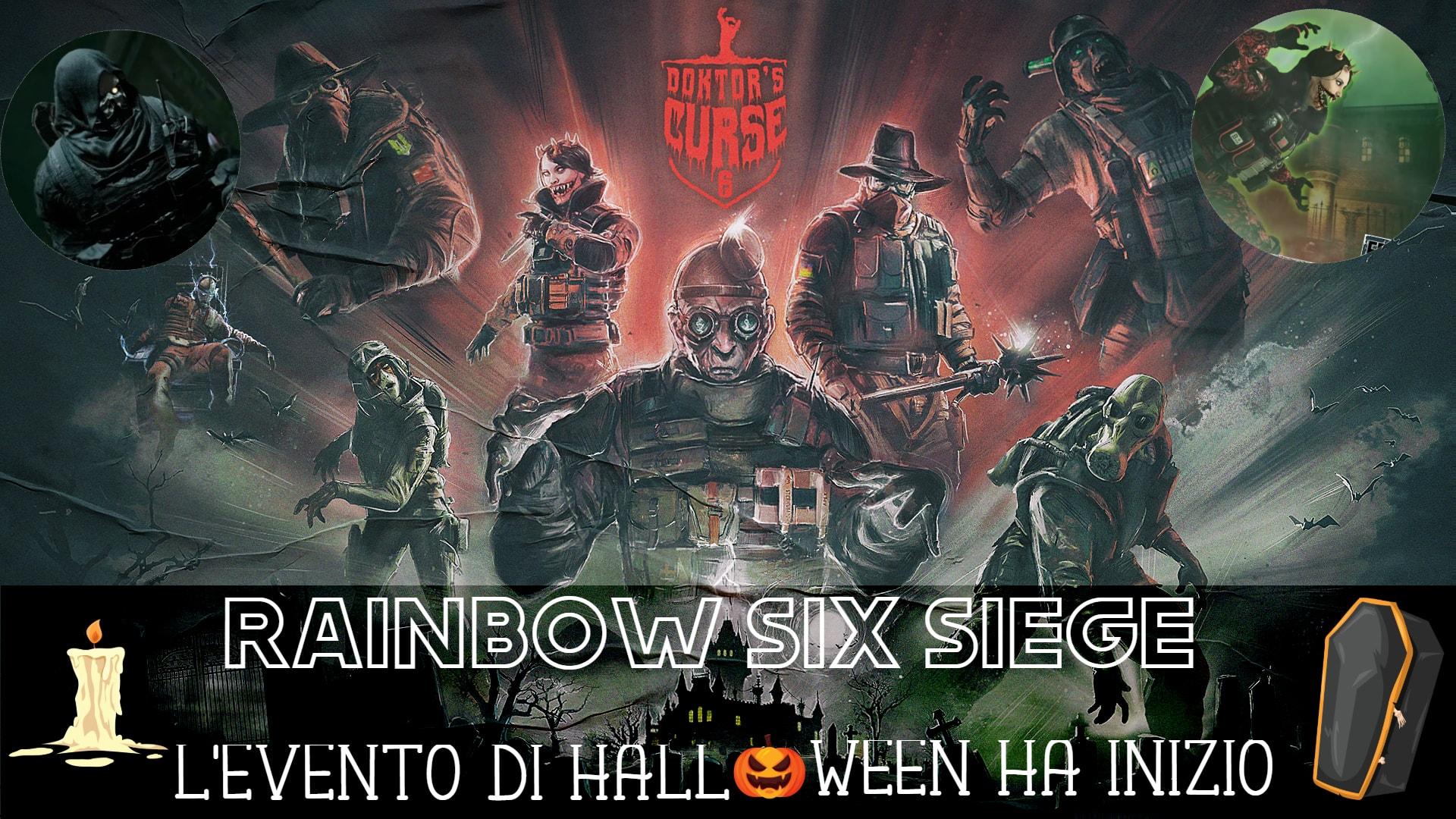 Rainbow Six Siege: Evento per festeggiare Halloween