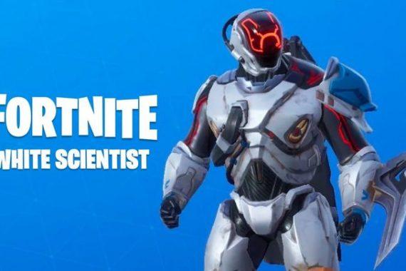 Fortnite: come ottenere la skin bianca dello scienziato