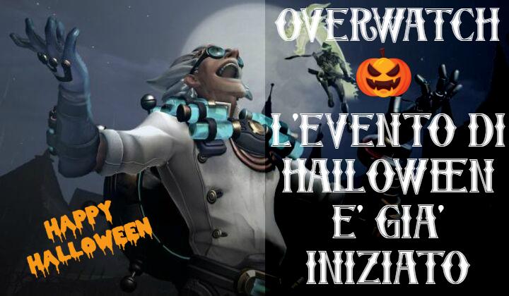 Overwatch: l'evento di Halloween inizia