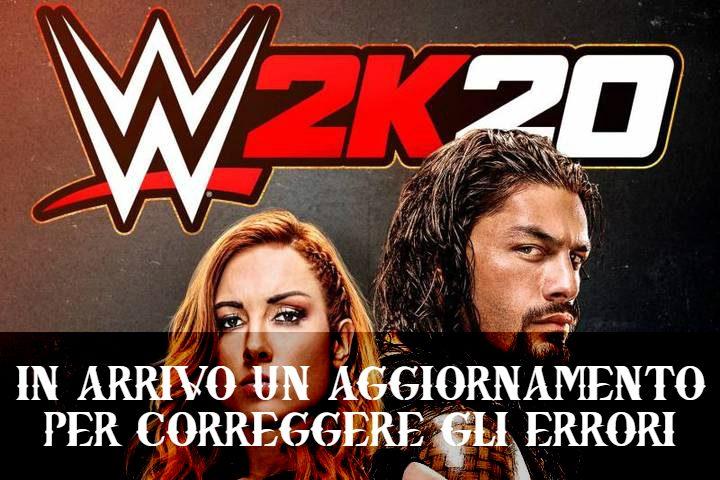 WWE 2K20: aggiornamento in arrivo