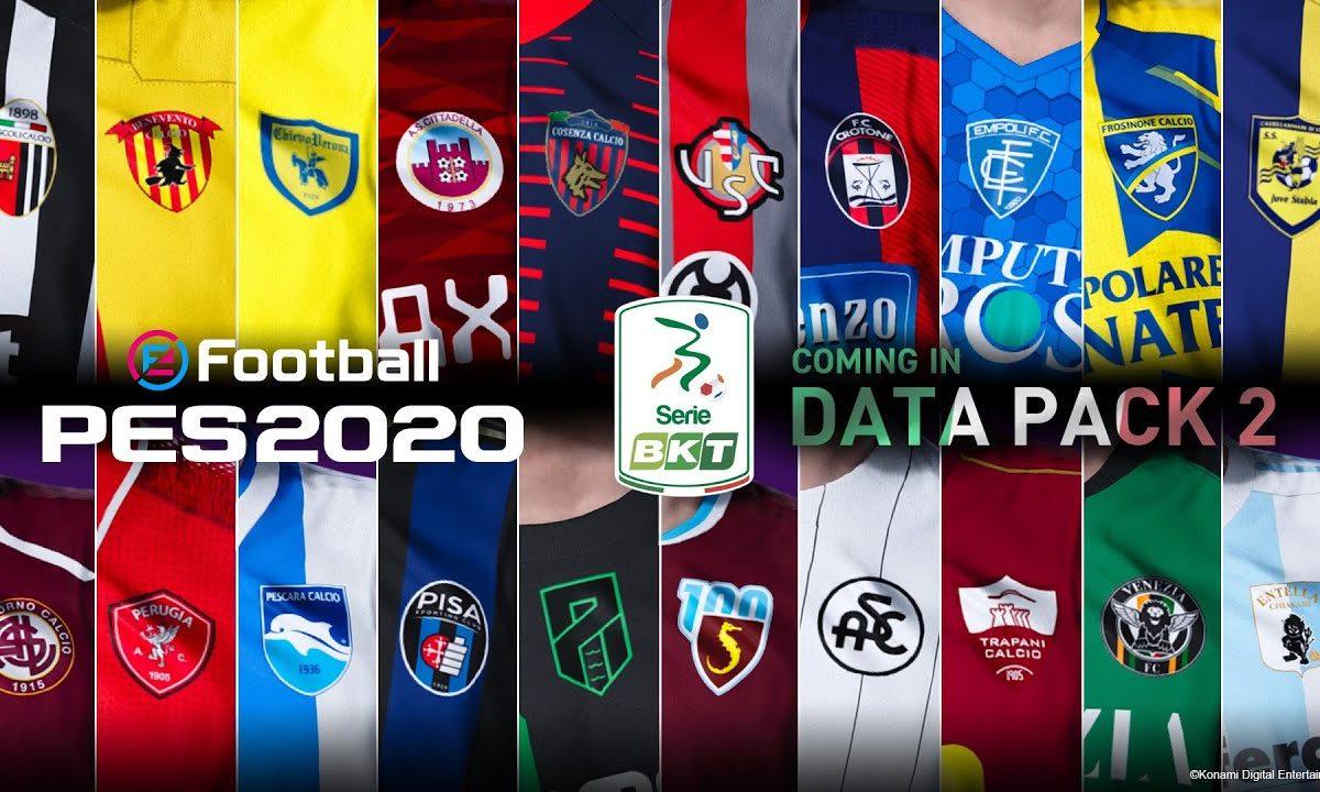 eFootball PES 2020: Data Pack 2.0 è qui per il download