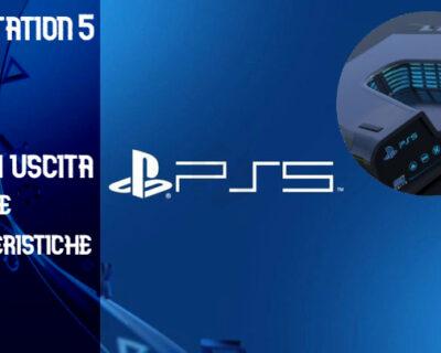 Playstation 5: Data di uscita e caratteristiche