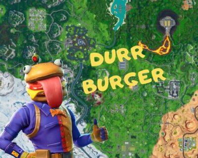 Fortnite: testa di Durr Burger, Dinosauro e testa di pietra – Mappa