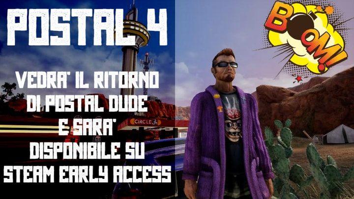 Postal 4 è disponibile in Early Access su Steam