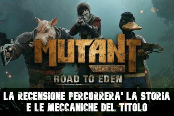 Mutant Year Zero Road to Eden – Recensione