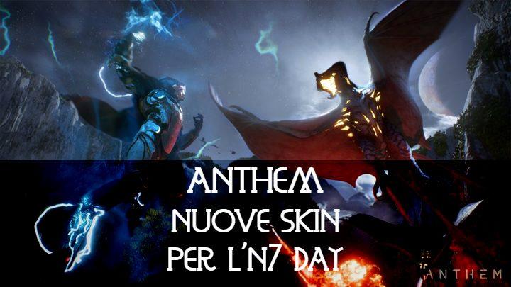 Anthem: nuove skin per festeggiare l'N7 day