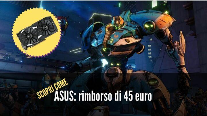 ASUS: Cashback fino a 45 euro per le schede video AMD