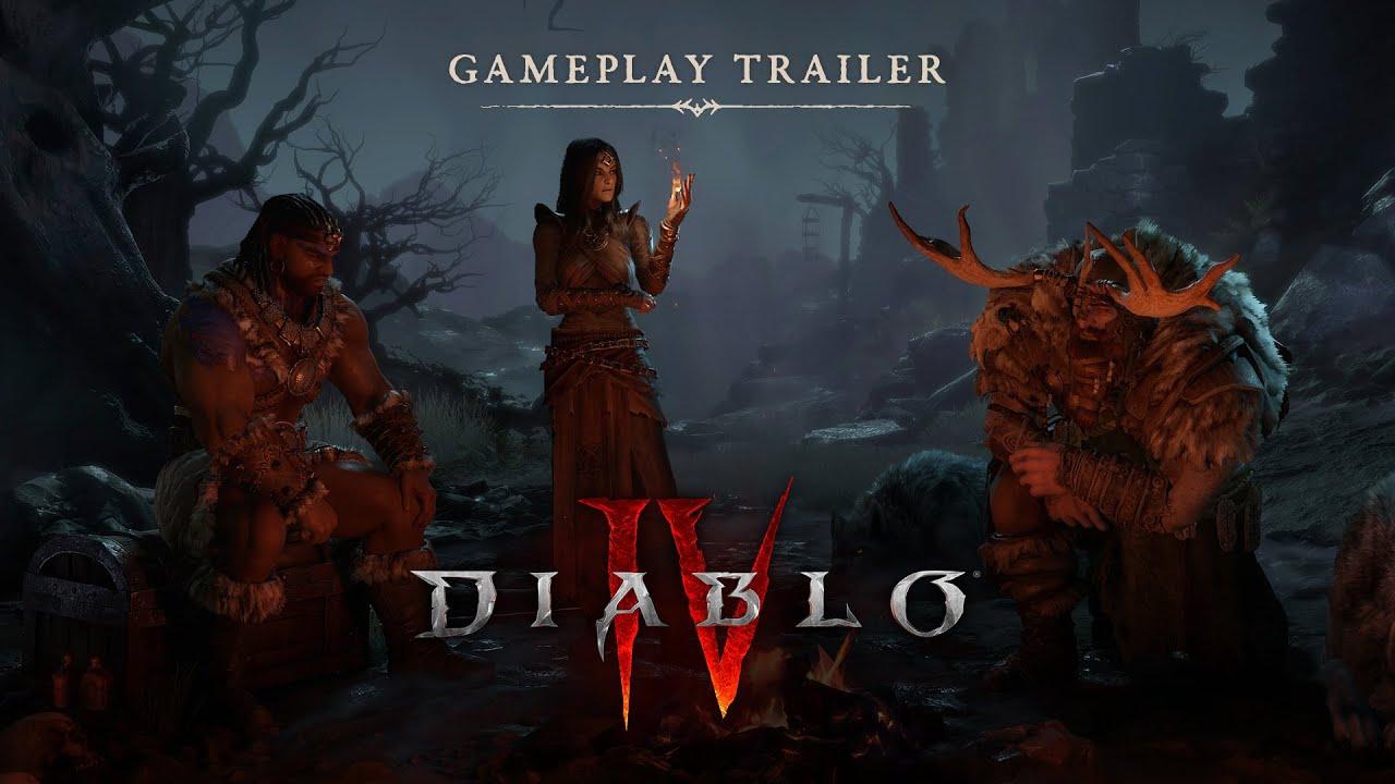 diablo 4 trailer gameplay