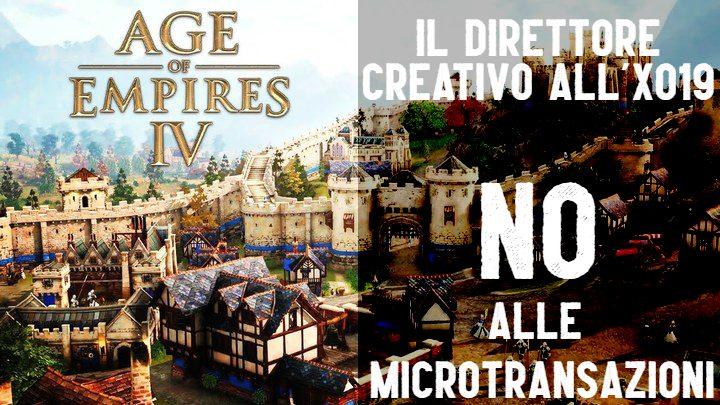 Age of Empire IV: no alle microtransazioni