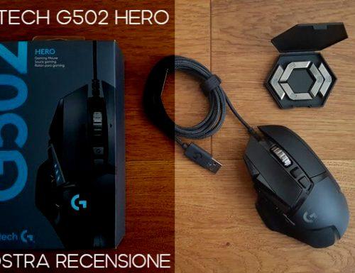 Logitech G502 Hero: un best buy – Recensione