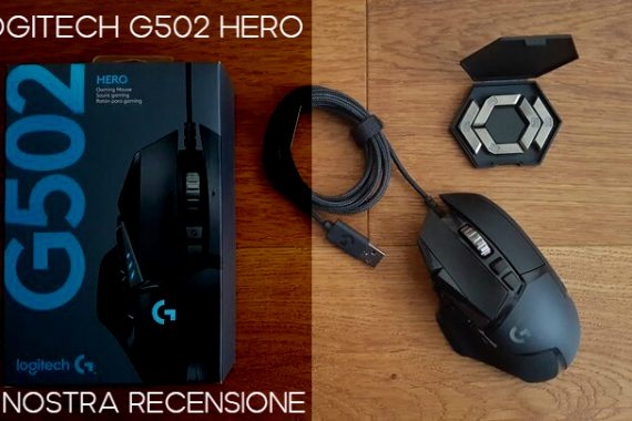 Logitech G502 Hero: un best buy – Recensione