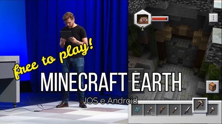 Minecraft Earth: disponibile gratis per IOS e Android