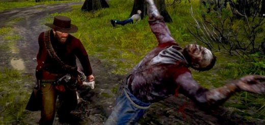 red dead redemption 2 zombie