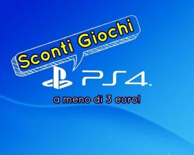 Sconti Giochi PS4: titoli a meno di 3 euro su Playstation Store