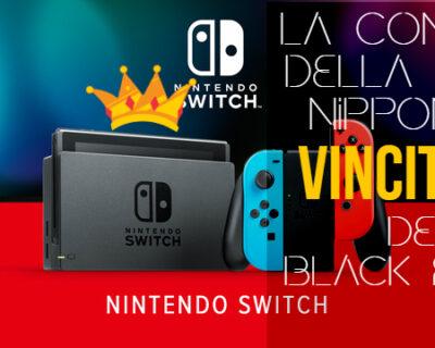 Nintendo Switch capolista delle vendite