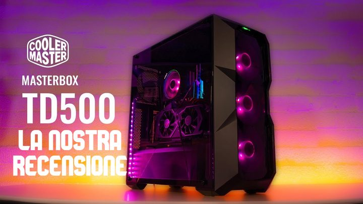Cooler Master Masterbox TD500 Mid Tower – Recensione
