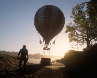 Red Dead Redemption 2: Mod mongolfiera