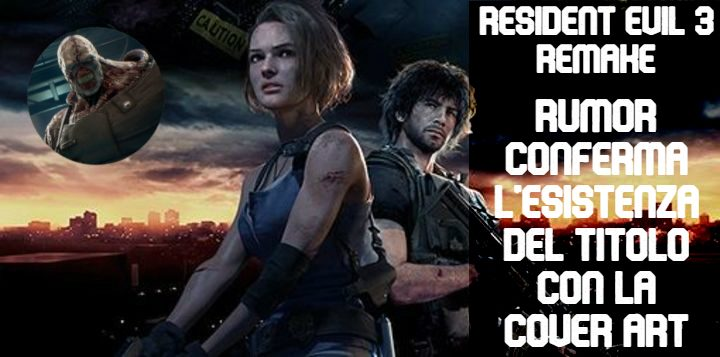 Resident Evil 3 Remake: cover art appare su PSN